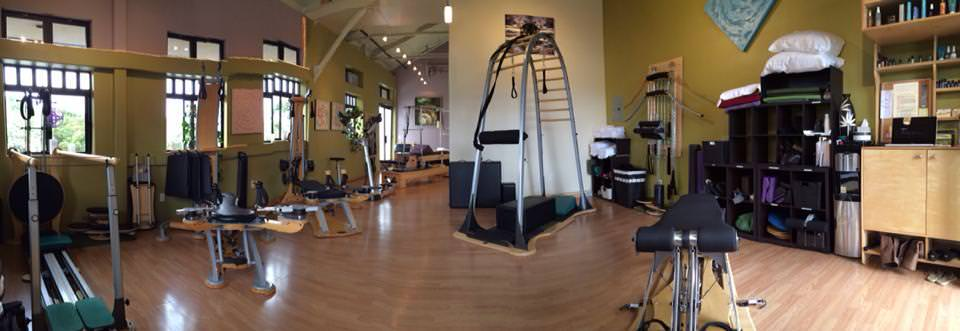 Gyrotonic training at the Mindful Movement Center of Maui