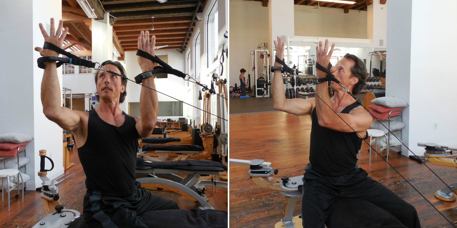 Strengthen spinal extension with strong shoulders for a cleaner backswing
