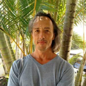 Mike Luque - Gyrotonic training on Maui